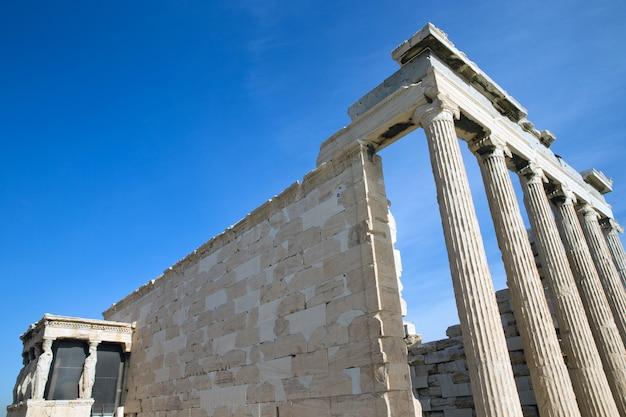 그리스 아테네 아크로폴리스의 파르테논 신전