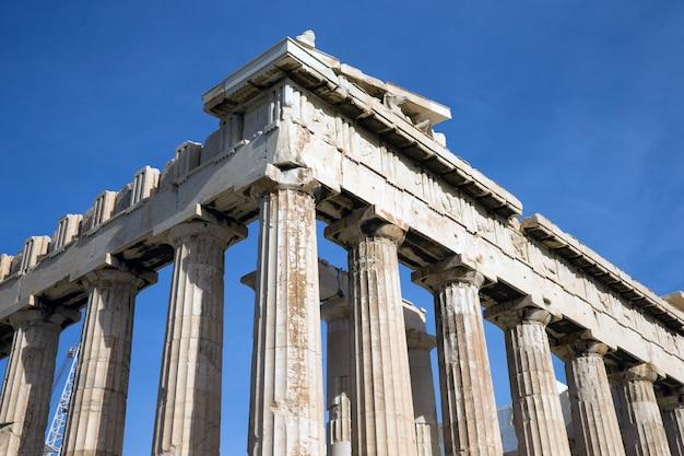 ギリシャ、アテネのアクロポリスのパルテノン神殿