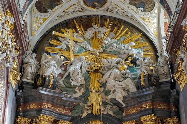 ポーランドのチェンストホバにあるジャスナゴラ修道院の部分図