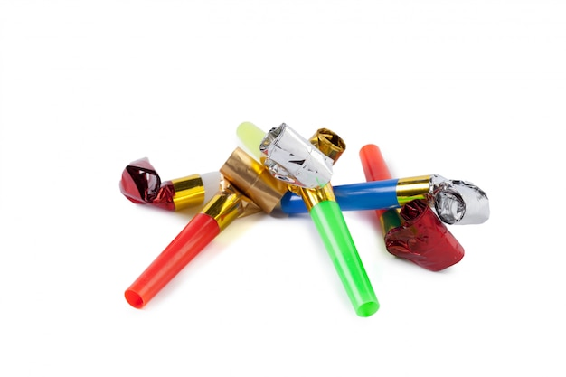 Party blower whistles