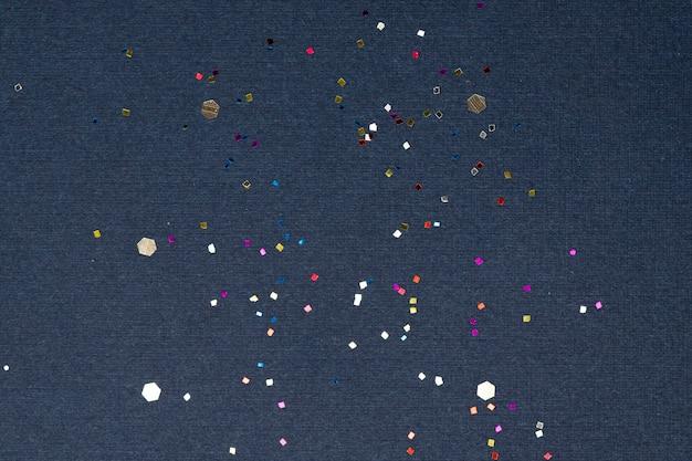 Party confetti blue wallpaper