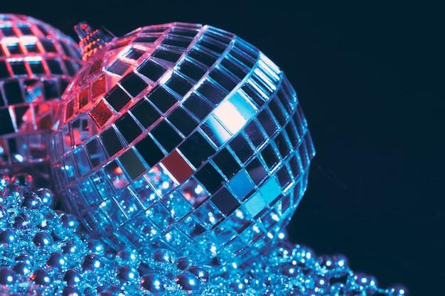Party lights disco mirror balls