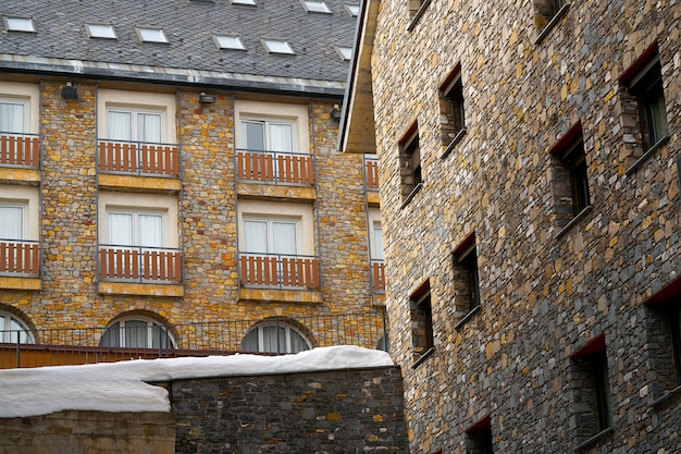 Pas de la casa ski village of andorra