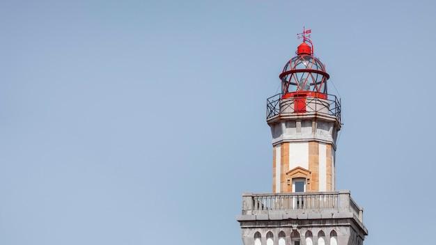 コピースペースのあるパサイア灯台