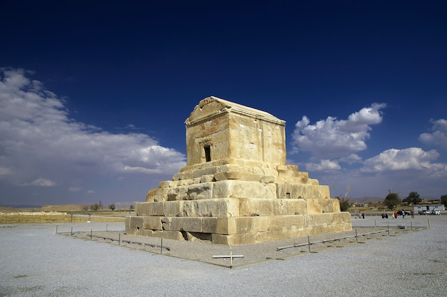 Pasargadae tomb and necropolis, iran