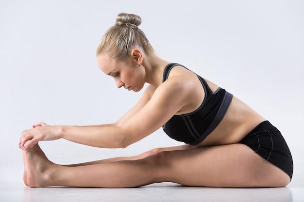Paschimothanasana yoga pose