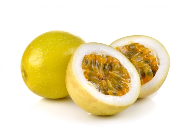 Passion fruit isolated
