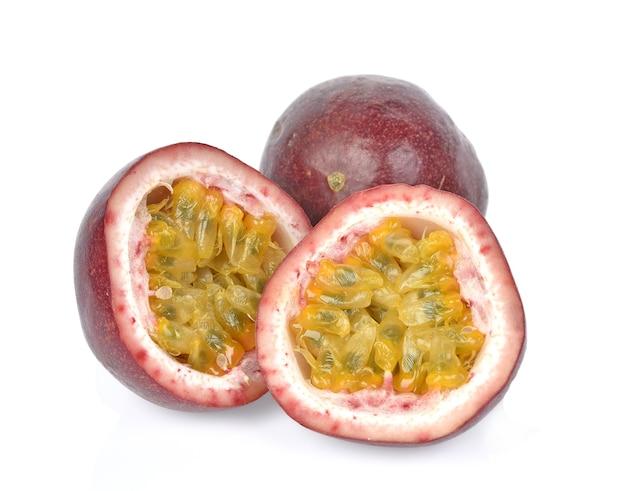 Passionfruits 흰색 절연
