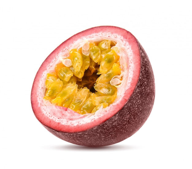 Passionfruits isolated