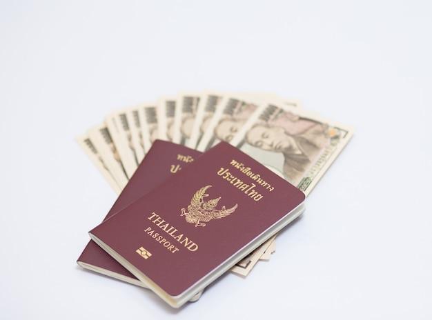 パスポートと日本の紙幣
