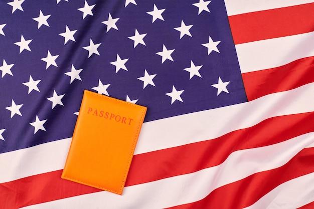 Паспорт на флаг соединенных штатов америки