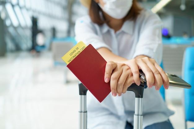 Паспорт со справкой о вакцинации от covid19
