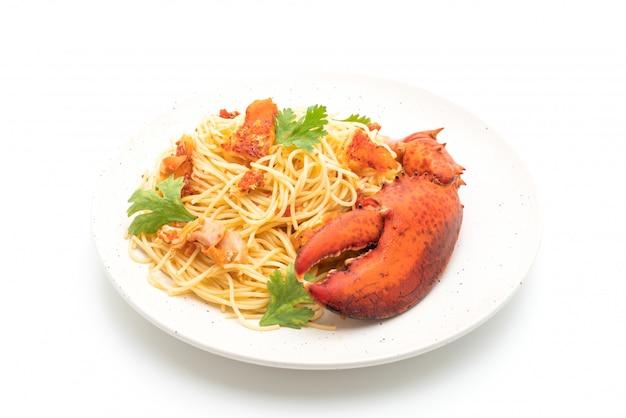 Паста all'astice или спагетти с лобстером - итальянская кухня