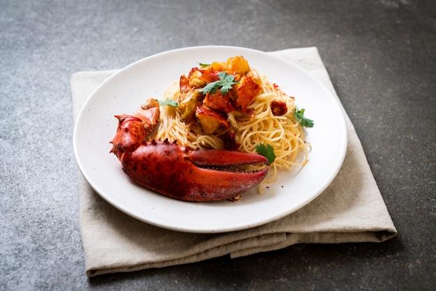Паста all'astice или спагетти с лобстером