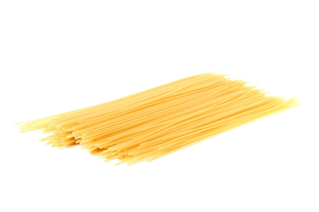 Pasta isolated on white background. high quality photo