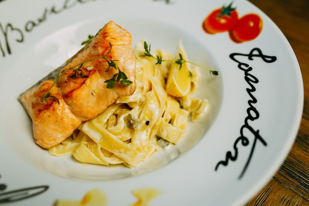 Pasta with fish