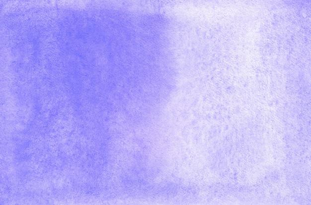 パステルブルーの抽象的な水彩画の背景のテクスチャ紙