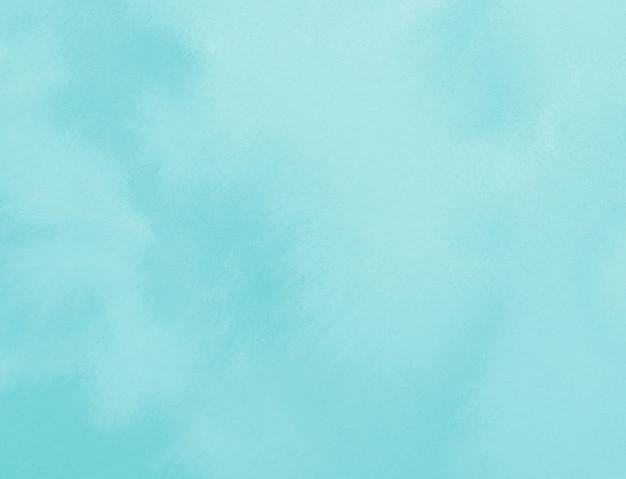 Пастельный синий цвет окрашены пятно акварель абстрактный фон
