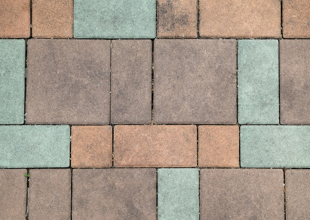 Pastel brick outdoor floor background