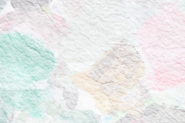 壁の背景にパステルカラー