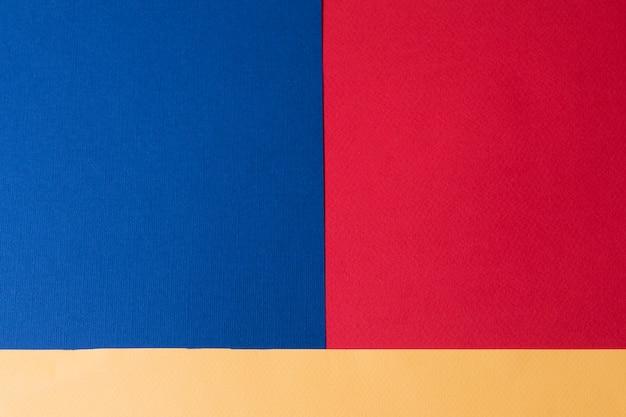 파스텔 크리 에이 티브 색 종이 배경, 위에서 볼 배너.