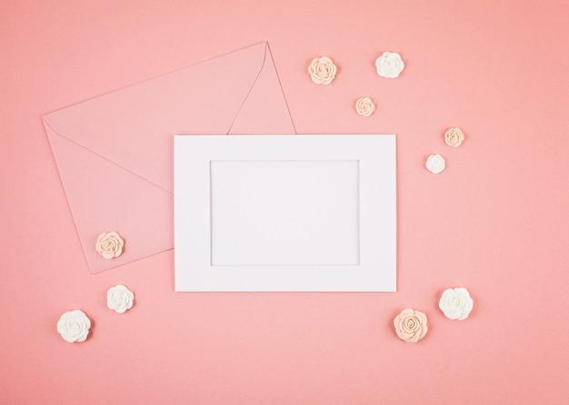 Pastel decorative minimal background