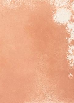 Pastel orange oil paint textured background