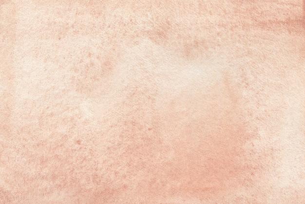 パステルピーチ抽象的な水彩画の背景のテクスチャ紙