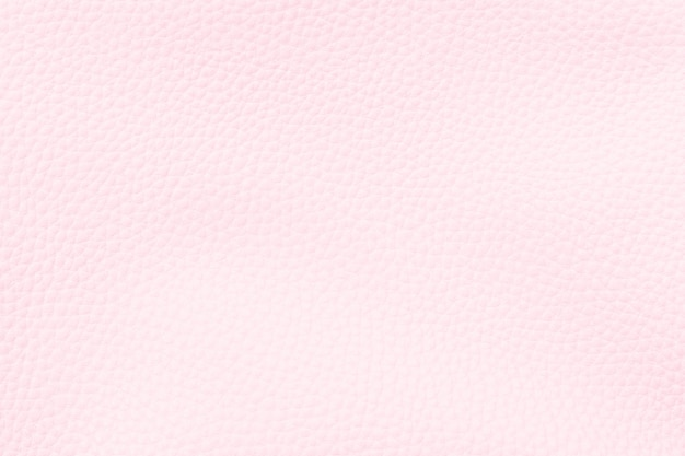 Pastel pink artificial leather textured background