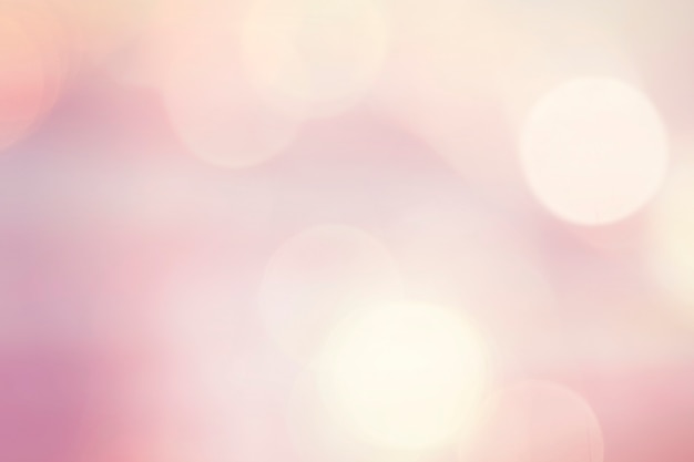 Pastel pink bokeh lights
