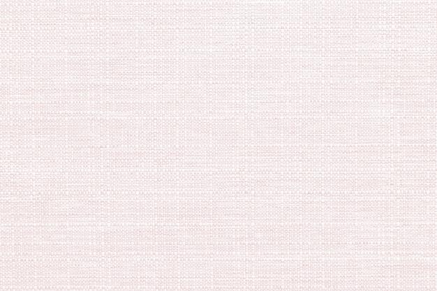 Pastel pink linen textile textured background