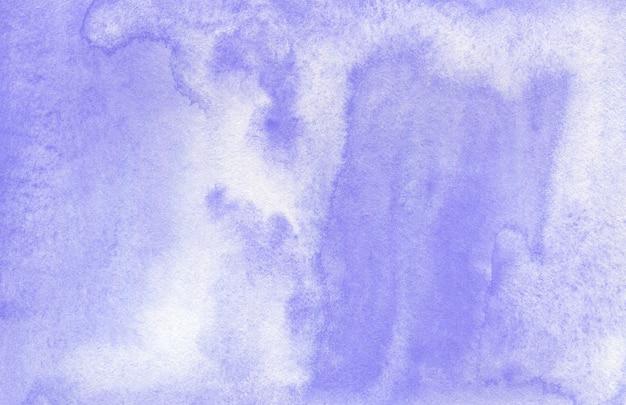テクスチャードペーパー上のパステル紫の抽象的な水彩画の背景