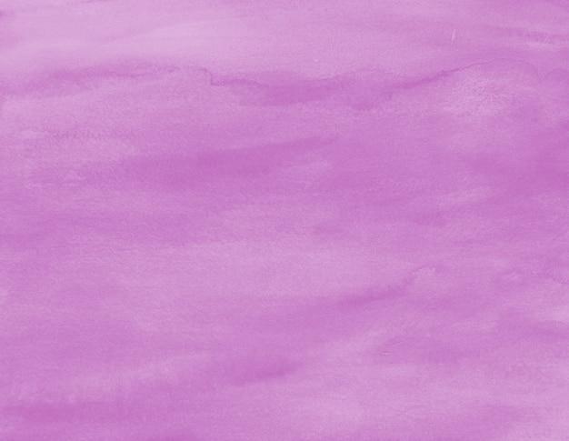Пастельный фиолетовый акварельный фон краска пятно текстуры произведения искусства