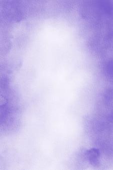 パステルパープルの水彩画の背景