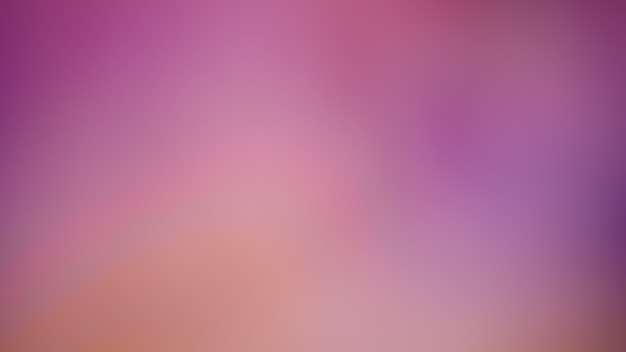 Pastel tone pink gradient defocused abstract photo smooth lines pantone color background