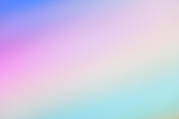 パステルトーンパープルピンクブルーグラデーションデフォーカス抽象写真滑らかなライン