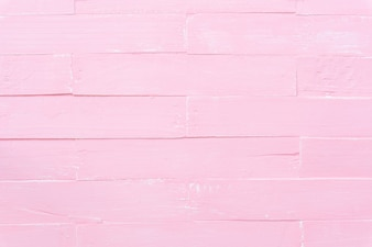 Pastel white and pink wooden table background texture