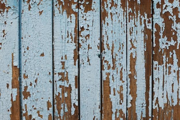 パステルウッド木製ホワイトブルー板の質感の壁の背景付き使用ウォッシュを通して古くて美しい感じを与える