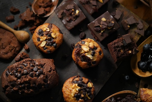 Pastry and bakery, desserts, cakes and cookies