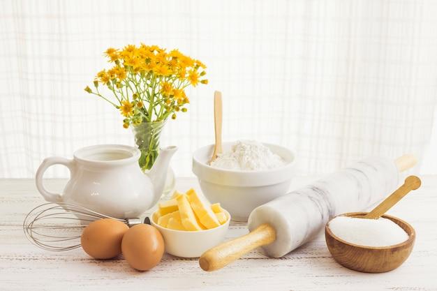 Pastry preparation ingredients