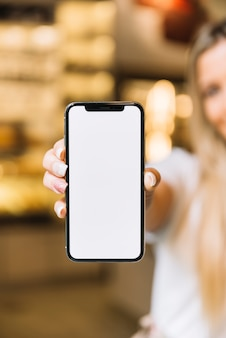 Pastry shop mobile phone template
