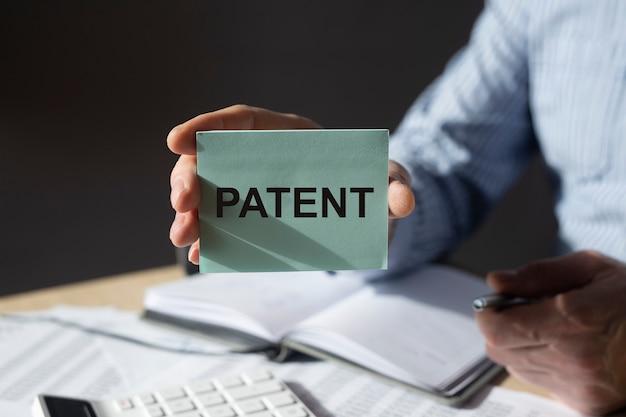 Патентное слово бизнес, авторское право и концепция защищенных прав