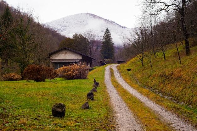 Путь в деревне