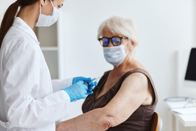 患者の免疫化安全性ウイルスの流行