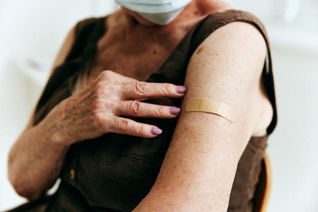클리닉 백신 여권 면역 보호 환자
