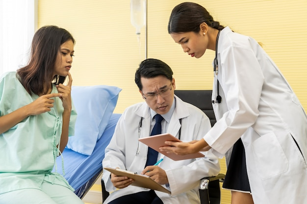 Patient worry about health situation