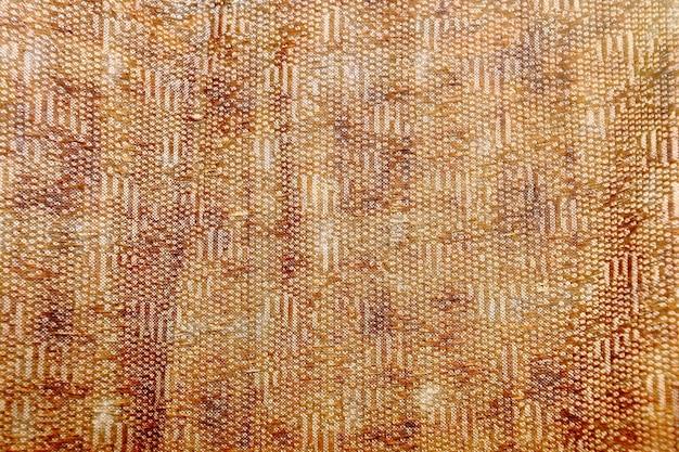Выкройка и дизайн-графика тканевой одежды красновато-оранжевого орнамента и вышивки