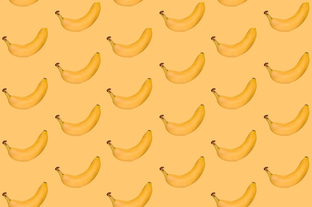 Pattern of delicious banana