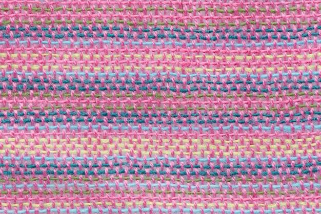 パターン贅沢な黄麻布織りクラフト