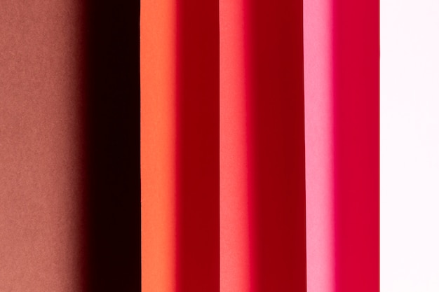 Pattern made of different shades of red close-up